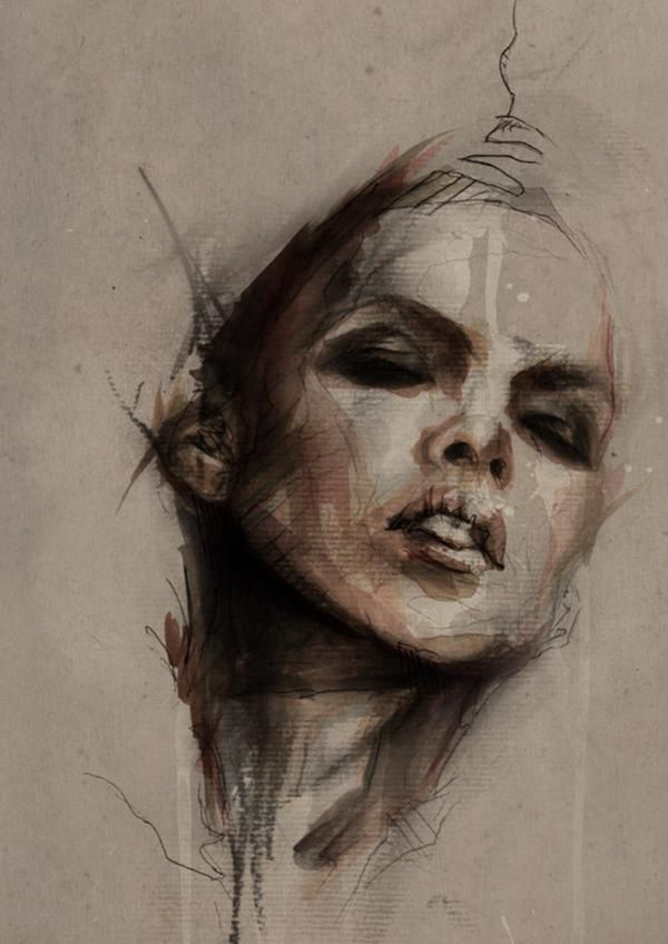 Artworks by Mario Alba- forgotten how much I miss working on top of newspaper and how much I miss life drawing classes