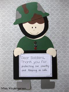 Miss Kindergarten: Veterans Day Craft!