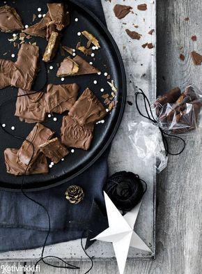 Itse tehty daim-suklaa – katso resepti!