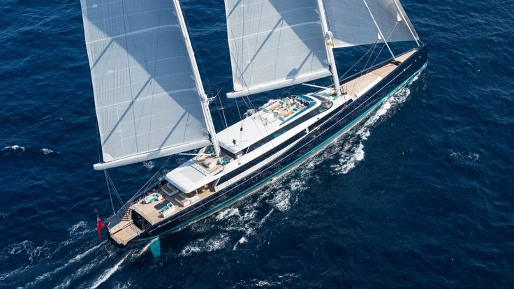 Aquijo. 86-metre sailing yacht for charter by Y.CO.