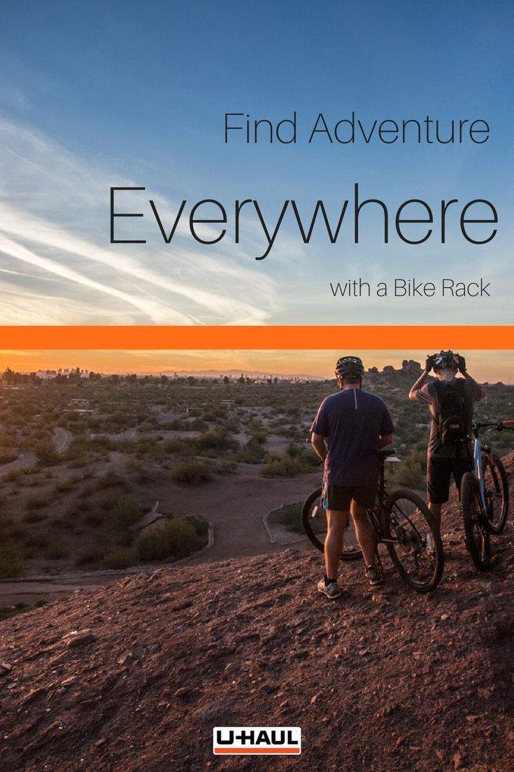 Find adventure everywhere you go with a hitch mounted bike rack. Don't reserve your biking excursions to places you can easily bike to from your house. Expand your horizons by allowing your bike to go anywhere that your car can travel to. Upgrade your travel plans today. I Biking