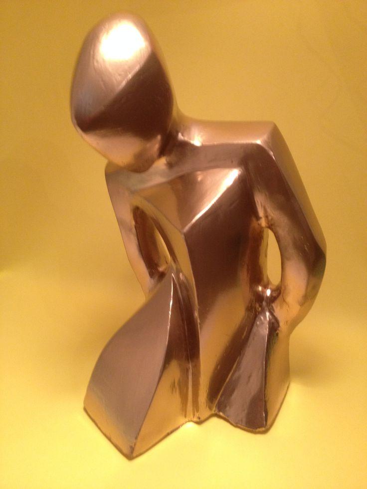 Golden Ballerina  (32cm tall) - John Burks