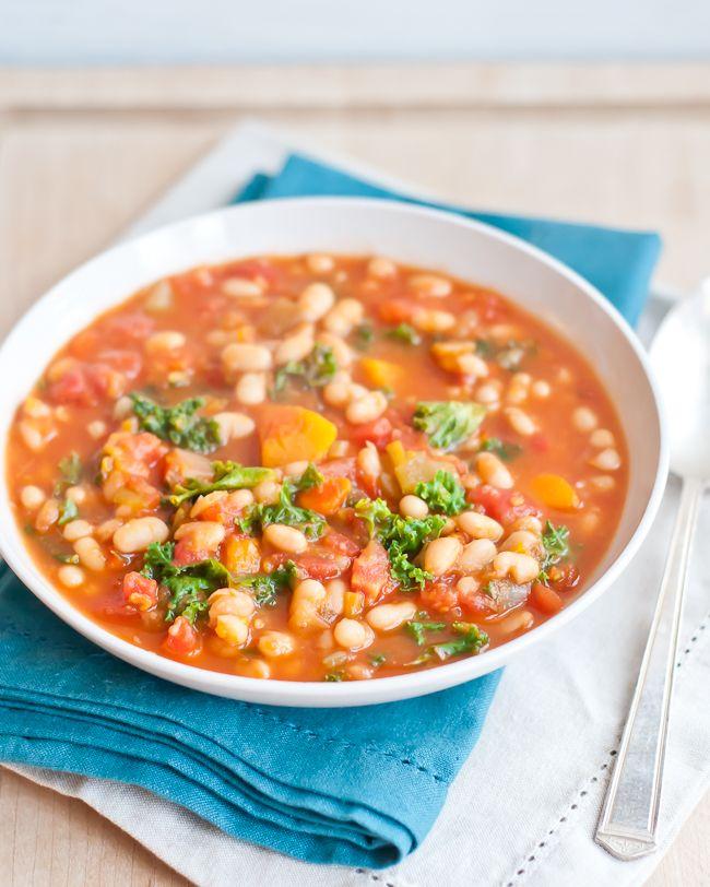 Hearty White Bean Vegetable Soup | Henry Happened