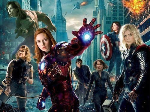 Doctor who and the avengers. This is awesome.