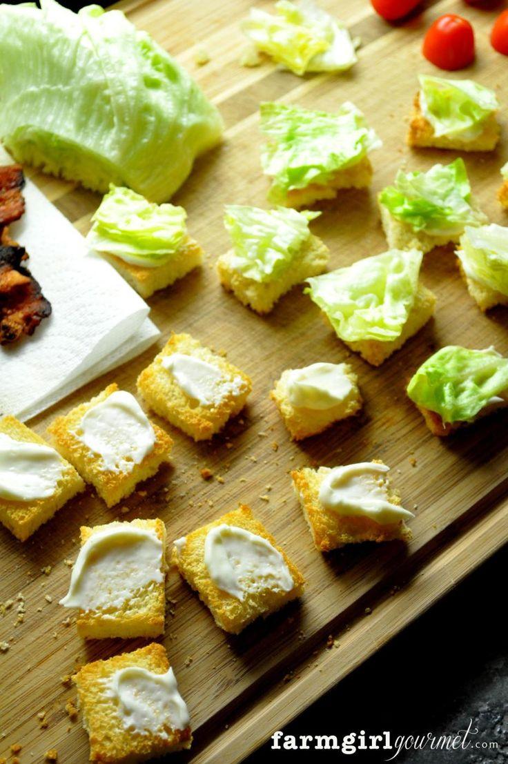 BLT Bites - Farmgirl Gourmet