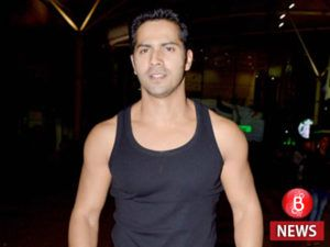 Varun Dhawan seems to get into action mode for Judwaa 2 shares a picture