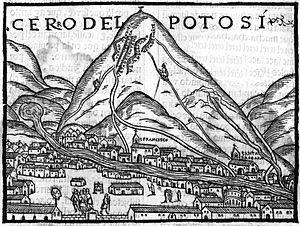 cerro potosí en la época colonial - Buscar con Google