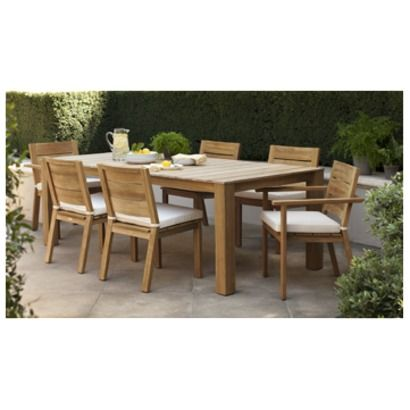 29 best images about garden on pinterest dining sets for Smith hawken teak furniture