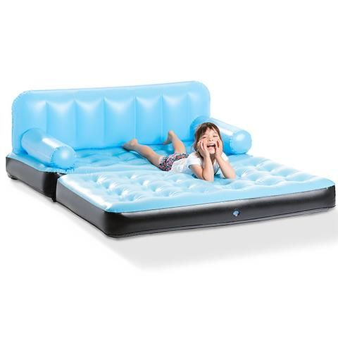 Best Multifunction Inflatable Couch Blue Kmart Sweet 16 400 x 300