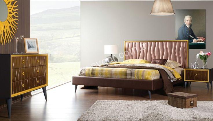Rento Modern Yatak Odası Takımı E1 Standartlarına Uygun 1nci sınıf özel fırınlanmış gürgendir.    Rento Modern Yatak Odasının Gardrop Kapakları Sürgülü Kapak Olup Kapak yüzeyi ceviz boyadır.