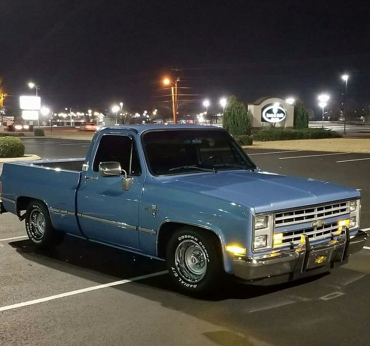 Box Chevy truck