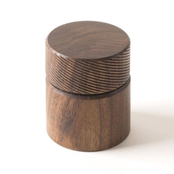 Just posted these handturned walnut stash containers to the shop. via patkimpatkim
