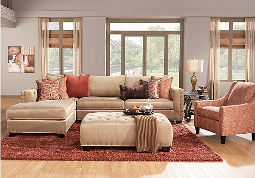1000 Ideas About Tan Sectional On Pinterest Spacious