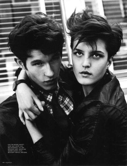 : State Editorial, Gq Style, Magazine, Fashion, Greaser Girls, United State, Gang Editorials, Black And White Photography, U.S. States