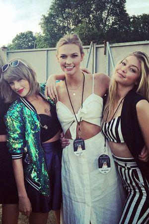 Karlie Kloss Chaperoned Taylor Swift, Calvin Harris, Gigi Hadid, and Joe Jonas's Double Date