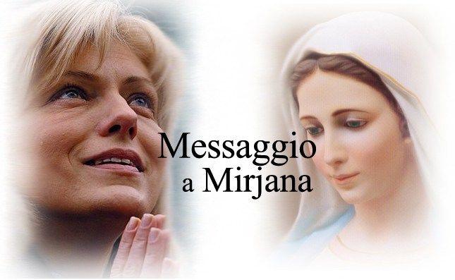 Messaggio di Maria Santissima Regina della Pace di Medjugorje a Mirjana il 2 Gennaio 2016