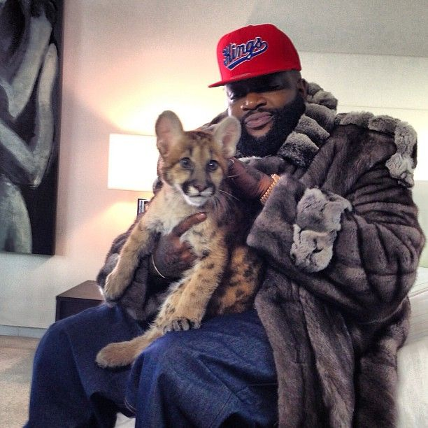 Don't be surprised if PETA put a hit out on Rick Ross...