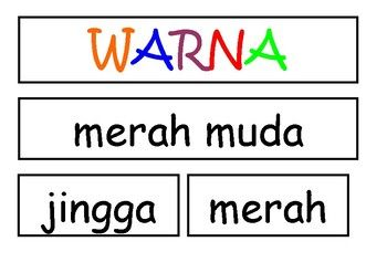 Use this template to create an easy to use, but essential, interactive colour chart to use when teaching young students colour words in Indonesian.Charts can be expensive to buy, and are never interactive.  Use less of your budget by easily making your own.You will needA printerOne large piece of cardboardAccess to a laminating serviceVelcro (dots)I will be adding matching flash cards shortly ~ subscribe to my store for updates!For personal and classroom only, not for resale or for…