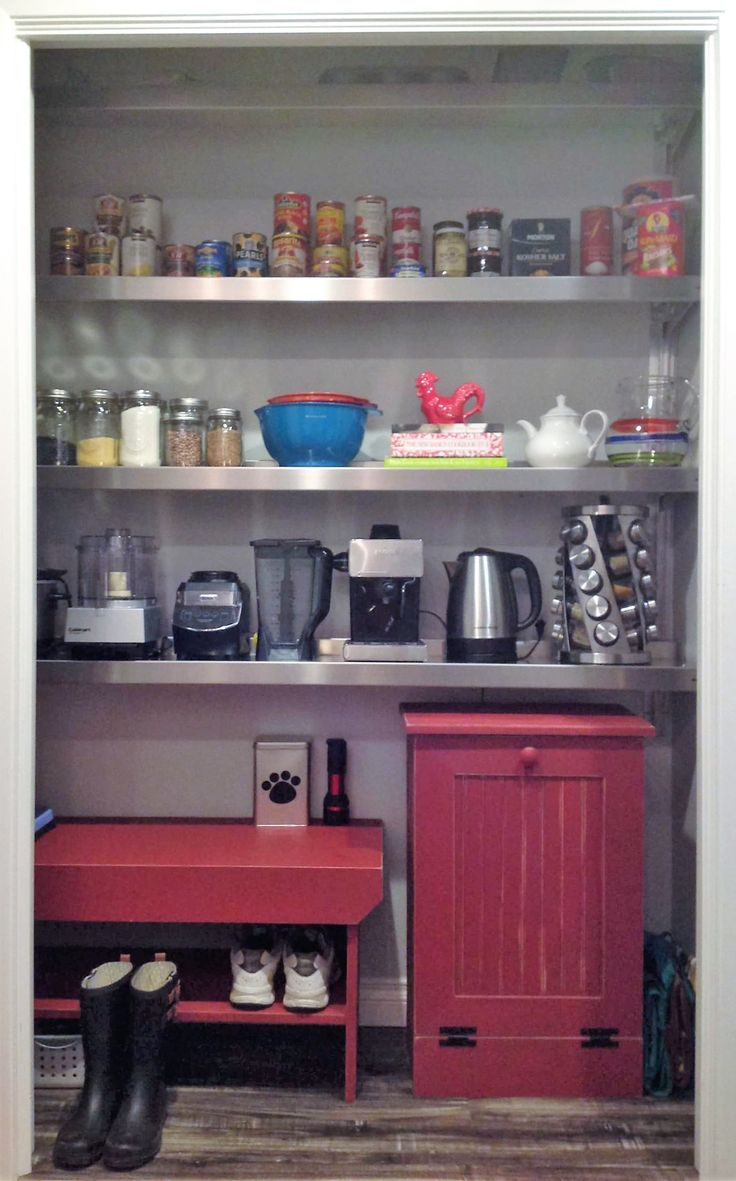 1000 Ideas About Pantry Shelving On Pinterest Under