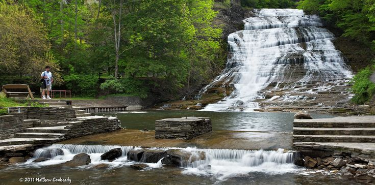 Buttermilk Falls State Park, Ithaca – Photos, Maps, Information