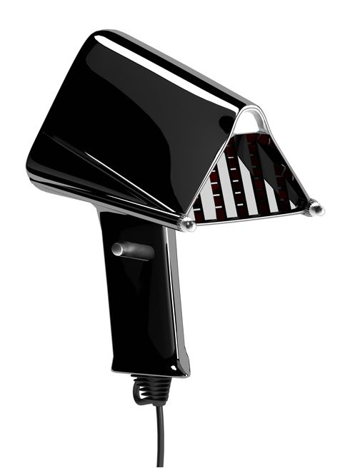 Darth Vader Hair Dryer     by Tembolat Gugkaev