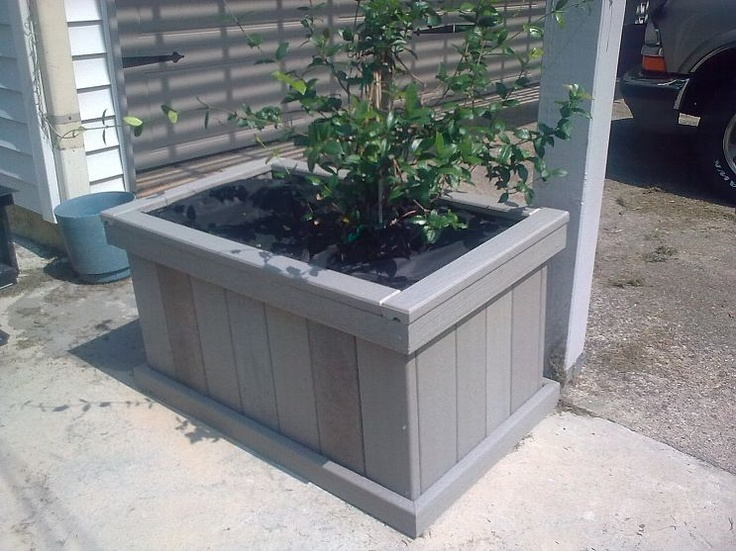 Deck storage box lowes woodworking projects plans - Deck rail planters lowes ...
