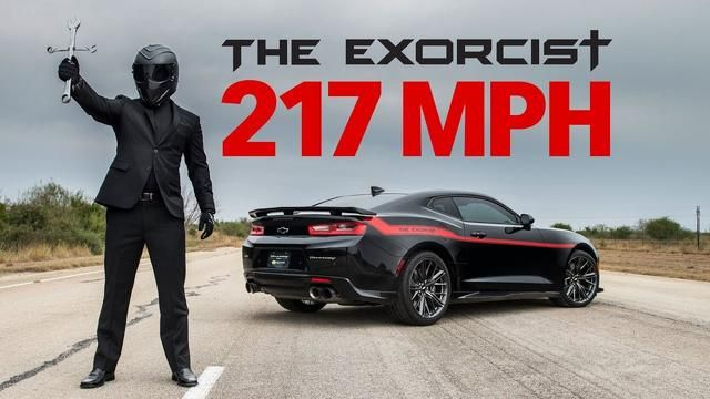 The Exorcist 217 Mph Top Speed Test The Exorcist Camaro Camaro