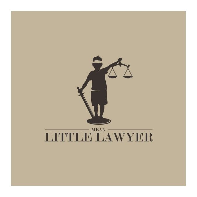 Mean Little Lawyer Logo Contest by ainatalita
