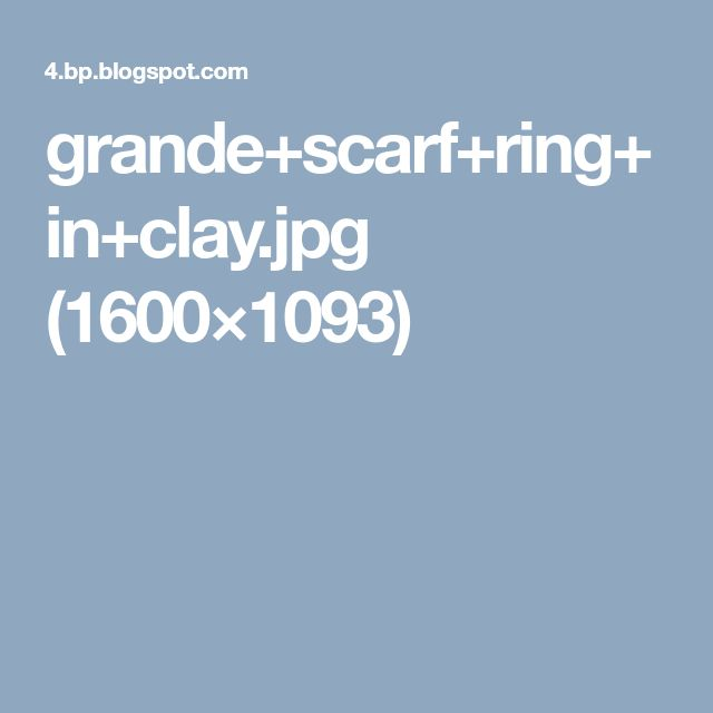 grande+scarf+ring+in+clay.jpg (1600×1093)