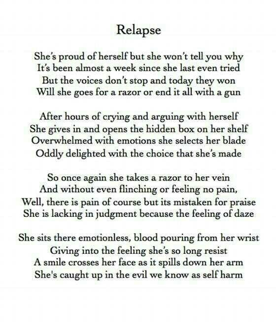 how to stop yourself from relapsing