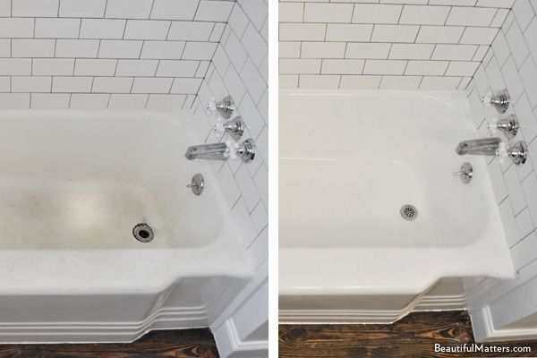 10 best images about re glazed bathrooms on pinterest cast iron tub valspar and shower heads for How much does it cost to update a bathroom