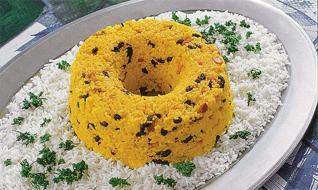 Receitas deliciosas de arroz para Natal e Ano Novo