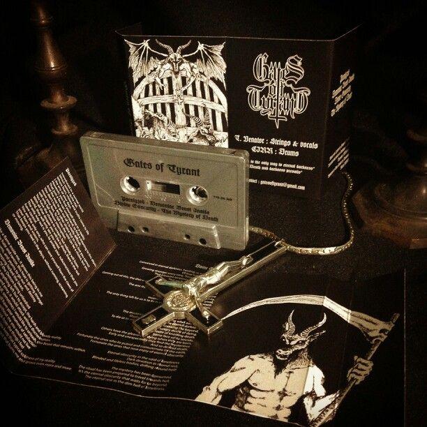 Profesional demo tape Gates of Tyrant