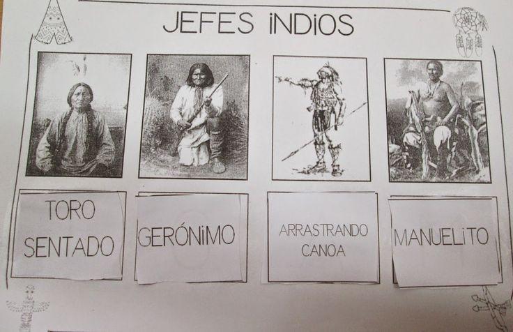 Apaches eran pescadores, agricultores y cazadores,valientes guerreros   Los Navajos eran cazadores y recolectores. Eran la tribu más numerosa de Norteamérica   Los indios Cherokees eran una tribu muy pacífica. Tenían sus propias escuelas y un sistema de escritura propio.  Los indios Sioux se llamaban a sí mismos Dakota y se dedicaban a cazar, cultivar, a la guerra, minería y orfebrería.  Los Pies Negros  pintaban sus mocasines de color negro y eran cazadores de bisontes.