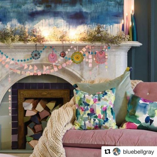"DEC 13, 2016 Loving this beaut of a photo from our lovely friends @bluebellgray  (the eagle-eyed among you may have spotted our Lorelai print garlands & gorgeous decorations from the awesome @eastendpress in the background!)   #Repost @bluebellgray with @repostapp ・・・ Feeling festive? Usually I'm not into any festivities until December but with my 2 litttle kiddos it's hard not to get swept up in the magic a little earlier, my 3 year old asks me ""is it Christmas Eve?"" pretty much eve"