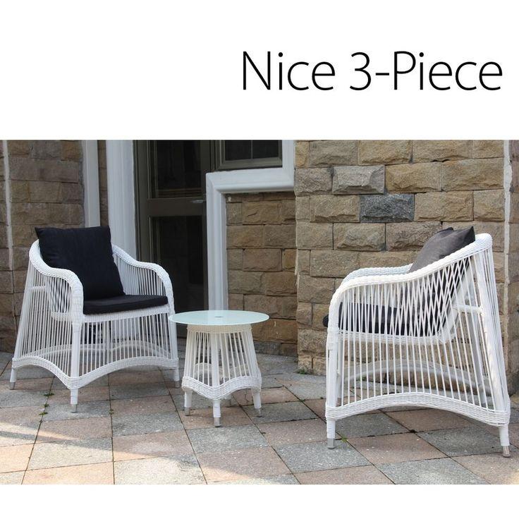 Exceptional Nice 3pc PE Wicker Rattan Outdoor Lounge Garden Patio Bar Furniture Set  Setting In Home U0026