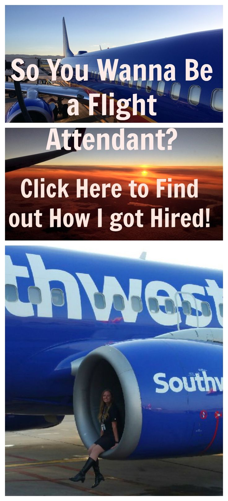 My life as a flight attendant has been life changing. The airlines are hiring, here are some of my tips to get an interview at Southwest Airlines!  https://theluvaviatrix.wordpress.com/2016/08/12/so-you-wanna-be-a-flight-attendant-join-the-luv-crew-southwest-airines-is-hiring/