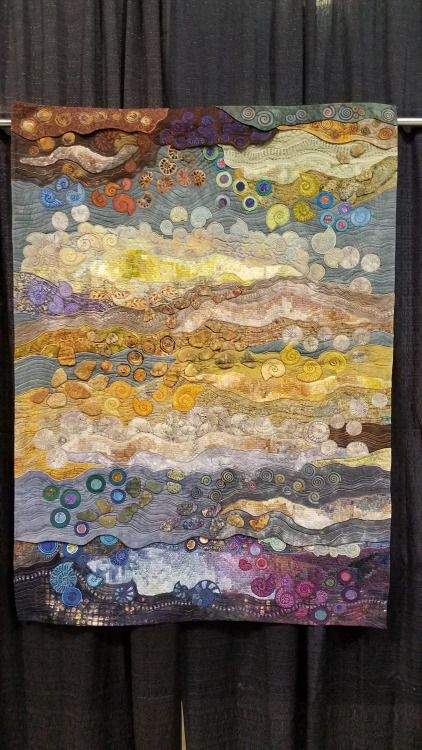 606 best Art quilt 16 images on Pinterest | Quilt art, Textile art ... : quilting history timeline - Adamdwight.com