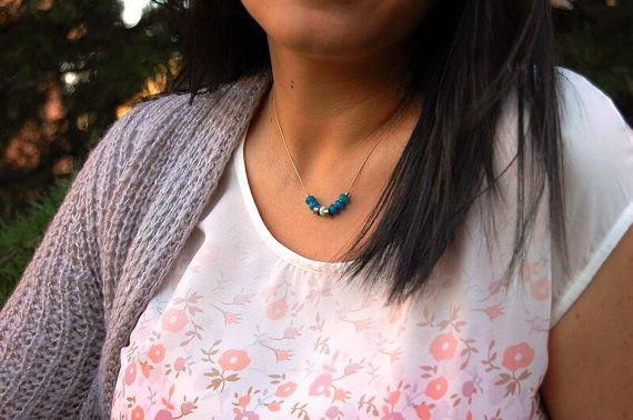 Collar swarovski. Collar Clásico. Collar elegante. Regalos Minimal necklace.