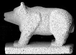 Gedetailleerde beer