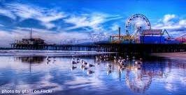 #Location | #Travel | #Destination | #Ocean | #America | #Circus | #Reflection | #Fun | #Colour | #View | #Stunning | #Sky | #Blue | #FerrisWheel | #Show