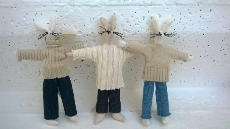 Moji myšáci,trio ve svetrech