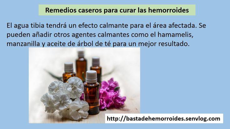 remedios curar hemorroides