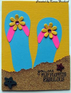 Karen's Kreative Kards: Silhouette Sunday End of Summer Cards (and a Super Find!)