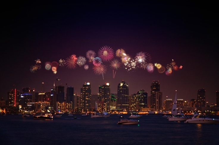 New Year's Eve in San Diego.
