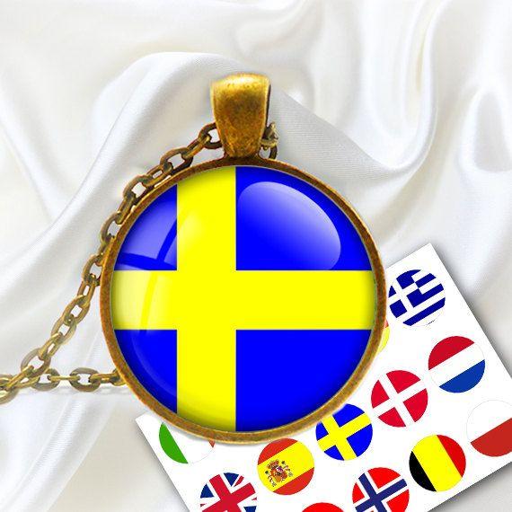 European Flags  Digital bottle caps images  1'' by BonCraft