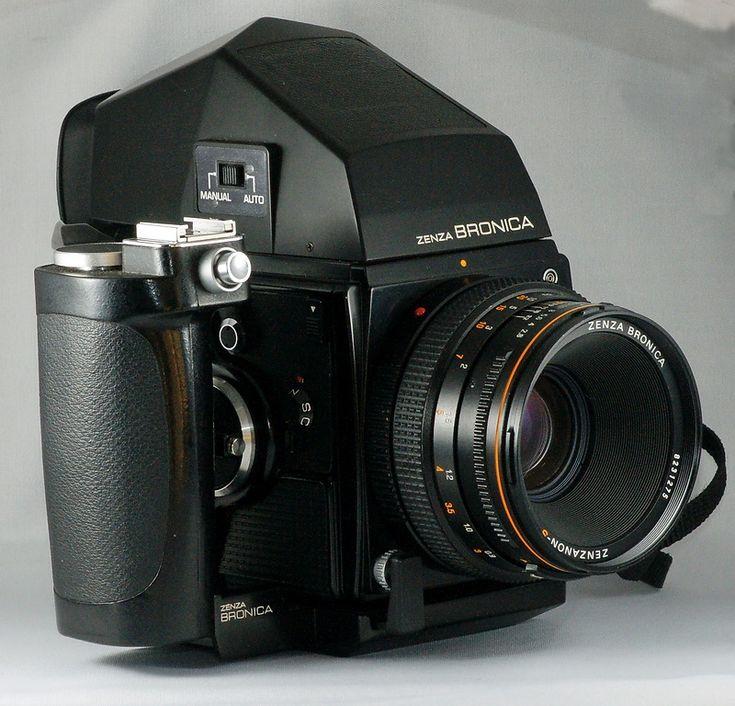 Zenza Bronica Sq, 6x6cm, SLR.