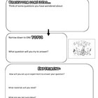 Science Fair Graphic Organizer, Brainstorm & Experiment set- up- perfect for setting up an experiment and the display board.  Makes the process ...