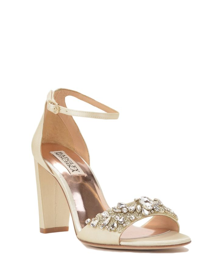 Badgley Mischka Barby Ankle Strap Evening Shoe, now available at the official website. Free shipping, returns and exchanges.