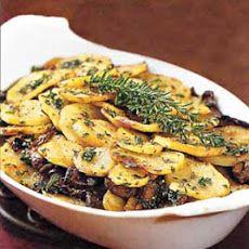 Potato and Portobello Mushroom Gratin Recipe
